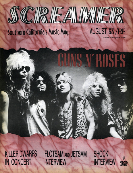Screamer Magazine August 1988