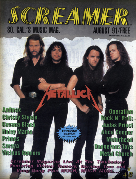 Screamer Magazine August 1991