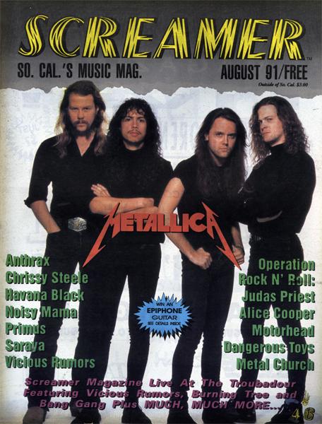 Screamer Magazine August 1991