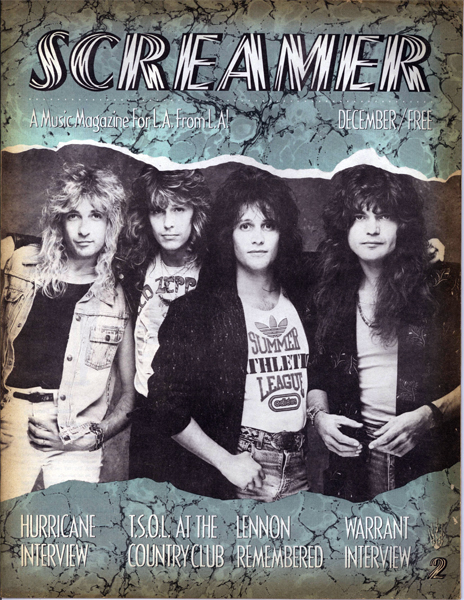 Screamer Magazine December 1987