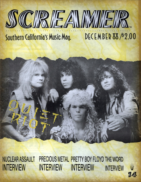 Screamer Magazine December 1988