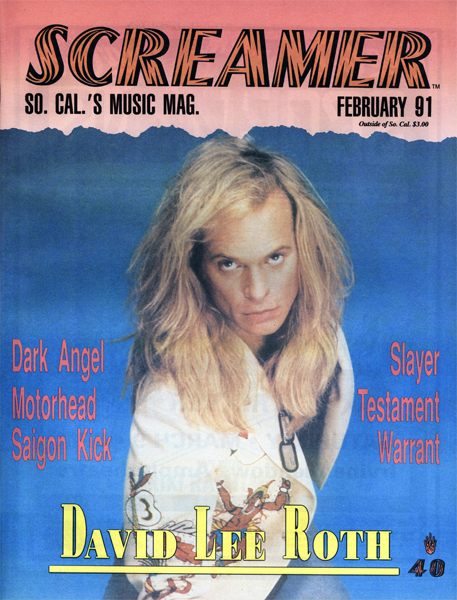 Screamer Magazine February 1991