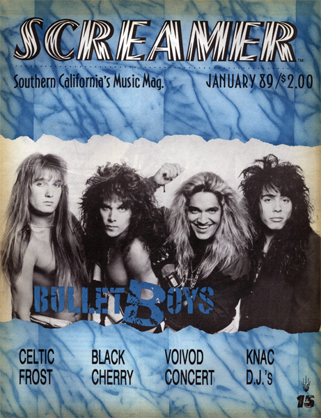 Screamer Magazine January 1989