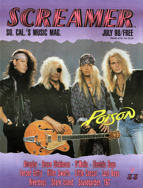 Screamer Magazine July 1990