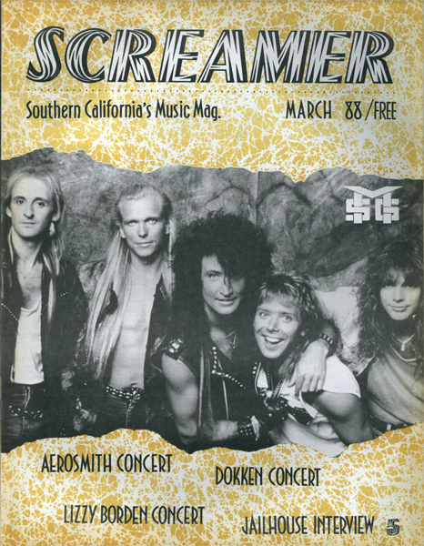 Screamer Magazine March 1988
