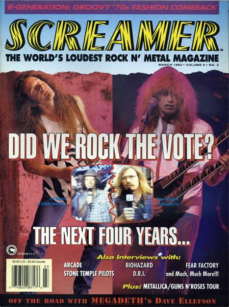 Screamer Magazine March 1993