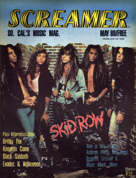 Screamer Magazine May 1989