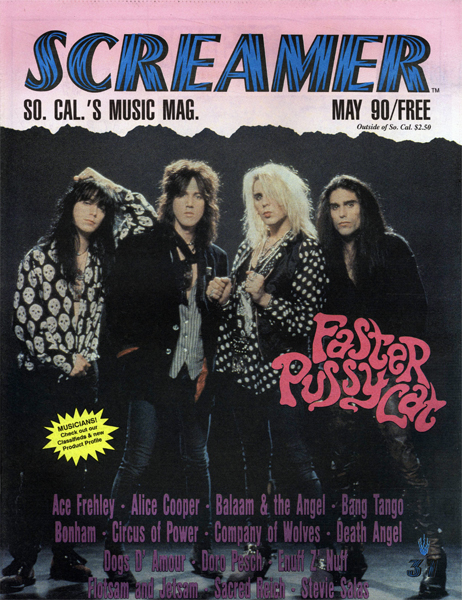 Screamer Magazine May 1990