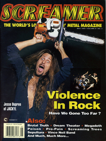 Screamer Magazine May 1993