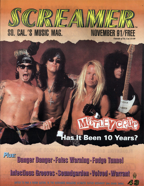 Screamer Magazine November 1991