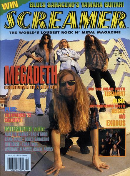 Screamer Magazine November 1992