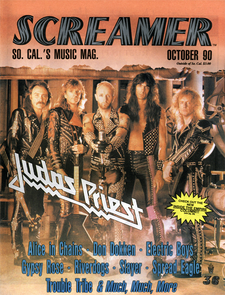 Screamer Magazine October 1990