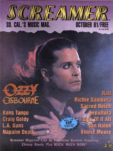 Screamer Magazine October 1991