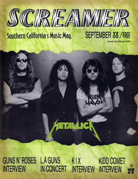 Screamer Magazine September 1988
