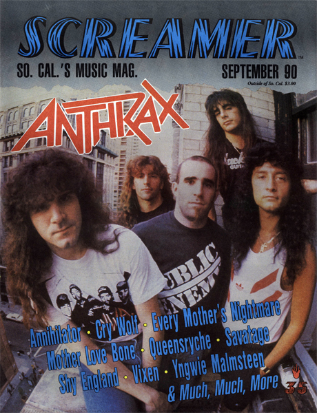 Screamer Magazine September 1990