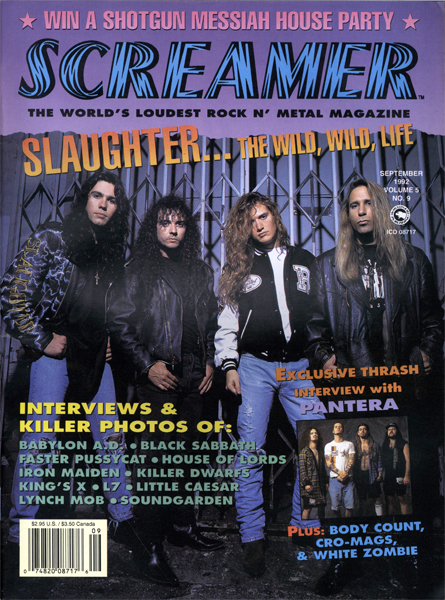 Screamer Magazine September 1992