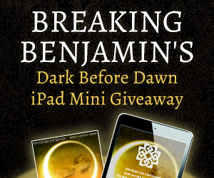 Breaking Benjamin's Dark Before Dawn iPad Mini Giveaway
