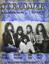 Screamer Magazine March 1989