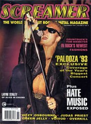 Screamer Magazine November 1993