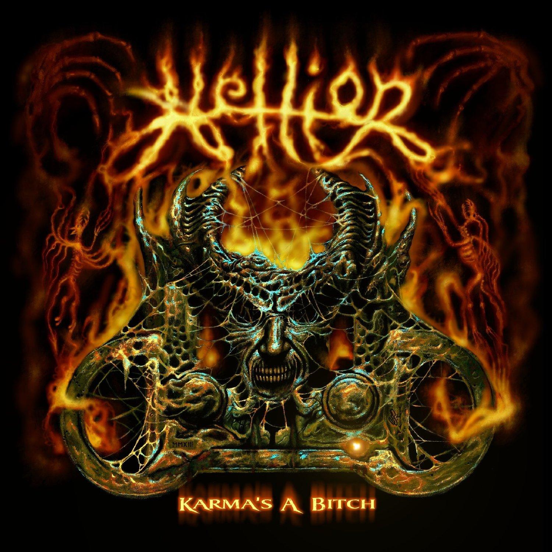 Hellion - Karmas A Bitch