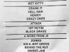 09-01-19 - John 5 Setlist at 1720