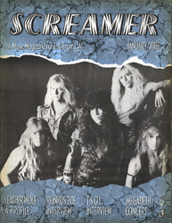 Screamer Magazine January 1988
