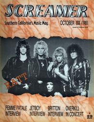 Screamer Magazine October 1988