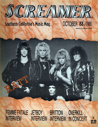Screamer Magazine October 1988