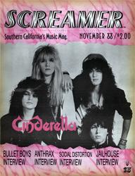 Screamer Magazine November 1988