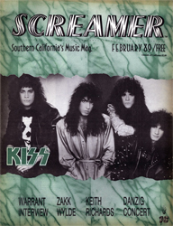 Screamer Magazine February 1989