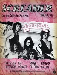 Screamer Magazine April 1989
