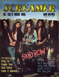 Screamer Magazine May 1989
