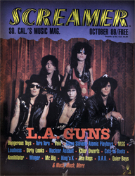 Screamer Magazine October 1989