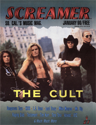 Screamer Magazine January 1990