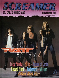Screamer Magazine November 1990