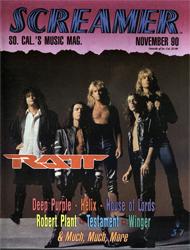 Screamer Magazine November 1990