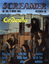 Screamer Magazine December 1990