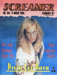 Screamer Magazine February 1991