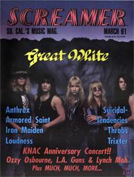 Screamer Magazine March 1991