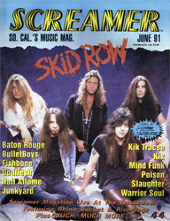 Screamer Magazine June 1991