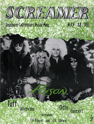Screamer Magazine May 1988