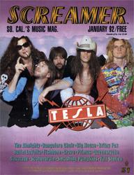 Screamer Magazine January 1992