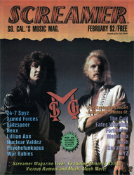 Screamer Magazine February 1992