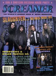 Screamer Magazine September 1992