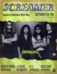 Screamer Magazine September 1988