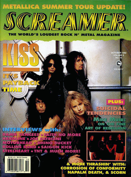 Screamer Magazine October 1992