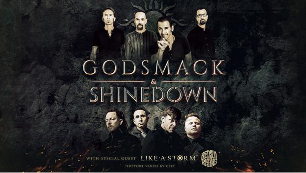 Shinedown Tour Las Vegas